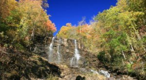Amicalola Falls In Georgia Will Soon Be Surrounded By Beautiful Fall Colors