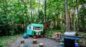 Enjoy An Amazing Glamping Experience At Wisconsin's Camp Kettlewood
