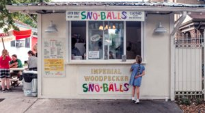 Cool Down With A Refreshing Sno-Ball From Imperial Woodpecker In New Orleans