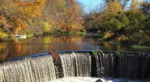 Shannock Falls In Rhode Island Will Soon Be Surrounded By Beautiful Fall Colors