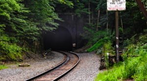 Hoosac Tunnel Is A Desolate Tunnel From 1851 Hiding In Small Town Massachusetts
