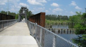 The Tammany Trace Is A 31-Mile Path In Louisiana That Winds Alongside Lakes, Rivers, And Historic Towns