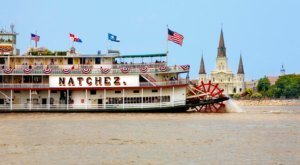 Enjoy A Meal With a Skyline View Of New Orleans Aboard The Steamboat Natchez