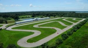 Race A Go-Kart Through 18 Landscaped Acres At Andersen RacePark In Florida