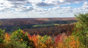 Deadman's Hill Overlook In Michigan Has A Spooky Name And Spectacular Fall Views