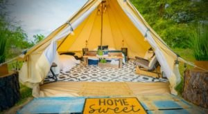 The Rustic Glamping Tents At Lake Louisa State Park In Florida Are Almost Too Good To Be True