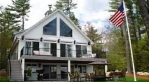 Stay In A Charming New Hampshire Cottage With Its Own Private Beach