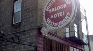 Stay Overnight In A 113-Year-Old Hotel That's Said To Be Haunted At White Horse Saloon In Idaho