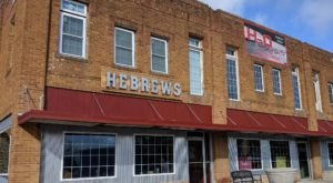 Bite Into Big Ol' Cinnamon Rolls And Country Style Cravings At HeBrews Cafe In Kansas