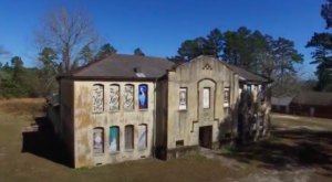 This Eerie And Fantastic Footage Takes You Inside Louisiana's Abandoned Kisatchie High School