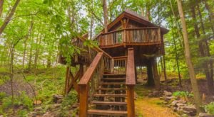 Take A Trip And Stay Overnight At This Spectacularly Unconventional Treehouse Near Pittsburgh