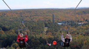 Soar Over Magnificent Fall Colors With HighFlyer Zipline, A Unique Adventure In Connecticut