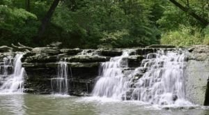 Waterfall Glen Trail Is A Beginner-Friendly Waterfall Trail In Illinois That's Great For A Family Hike