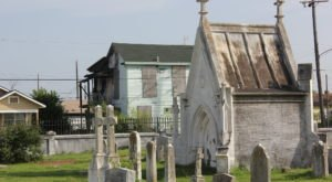 Take A Walking Tour Through One Of Texas' Most Haunted Cemeteries This Halloween…If You Dare