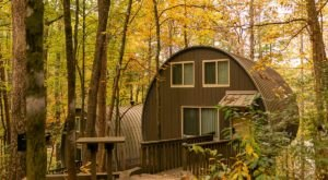 The Rustic Glamping Cabins At Unicoi State Park In Georgia Are Almost Too Good To Be True
