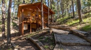 Enjoy A Wonderfully Rustic Staycation At The Story Book Cabins In Ruidoso, New Mexico
