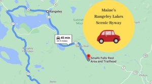 Hop In Your Car And Take Rangeley Lakes Byway For An Incredible 35-Mile Scenic Drive In Maine