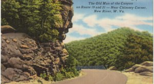 The Midland Trail Scenic Byway Around Gauley Mountain Is 10 Miles Of White-Knuckle Driving In West Virginia That's Not For The Faint Of Heart