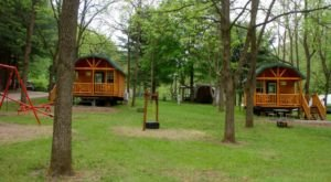 The Rustic Glamping Cabins At Austin Lake In Ohio Are Almost Too Good To Be True