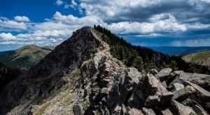 Deception And Lake Peak Trail Is A Challenging Hike In New Mexico That Will Make Your Stomach Drop