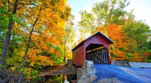 Here Are 6 Of The Most Beautiful Maryland Covered Bridges To Explore This Fall