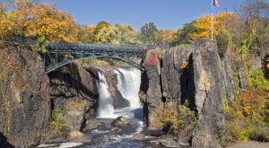 The Great Falls In New Jersey Will Soon Be Surrounded By Beautiful Fall Colors