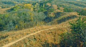 Iowa's Loess Hills Are The Best Destination In The Midwest For Autumn Hiking