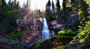 Virginia Falls Is A Fascinating Spot in Montana That's Straight Out Of A Fairy Tale