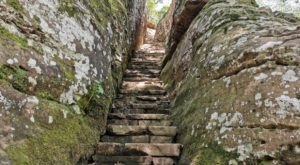 Hike This Stairway To Nowhere In Illinois For A Magical Woodland Adventure