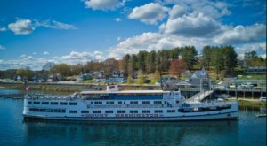 See The Most Breathtaking Fall Foliage From The Water On The Mount Washington Cruise In New Hampshire