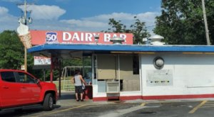 Stop For Ice Cream And Mini Golf At This Beloved Dairy Bar Along Route 50 In Ohio
