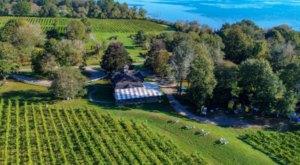 Sip Wine On The Sakonnet River At Greenvale Vineyards In Rhode Island
