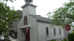 Sleep Inside A Historic Schoolhouse For A One-Of-A-Kind Rhode Island Experience