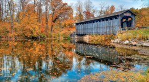 Here Are 9 Of The Most Beautiful Michigan Covered Bridges To Explore This Fall