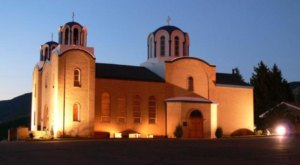 Holy Trinity Serbian Orthodox Church Is A Pretty Place Of Worship In Montana