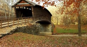 Here Are 4 Of The Most Beautiful Virginia Covered Bridges To Explore This Fall