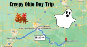 This Creepy Day Trip Through The Spookiest Places In Ohio Is Perfect For Fall