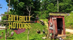 Order Some Of The Best Hot Dogs In West Virginia At Hillbilly Hot Dogs, A Ramshackle Hot Dog Stand