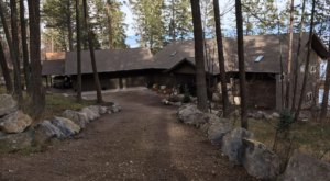 Sleep On The Shores Of Flathead Lake In This Magnificent Montana Vacation Home