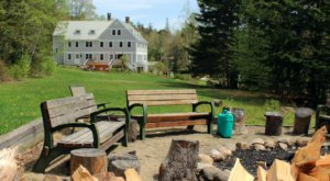 Stay In A Lodge Right Off The Trails At Mt. Cardigan A This Beautiful Spot In New Hampshire