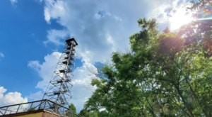 Big Walker Lookout Tower, Located Right Next To A Virginia Country Store, Is A Picture-Perfect Fall Destination
