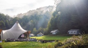 Under Canvas Is A Middle-Of-Nowhere Camping Experience In Tennessee Where You'll Find Your Own Slice Of Paradise