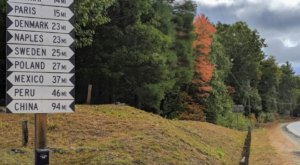 This Roadside Attraction In Maine Is Perfect For Folks Who Won't Be Traveling For Awhile