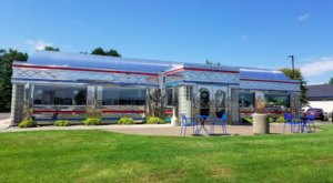 For A Great Meal On The Road, Head On Into 371 Diner, A Retro Eatery In Baxter, Minnesota