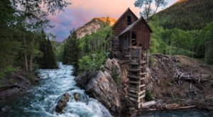 Crystal Mill Is A Fascinating Spot in Colorado That's Straight Out Of A Fairy Tale
