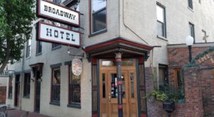 Indiana's Oldest Tavern In The Historic Broadway Hotel Is A Haunted Gem Worth Seeking Out