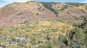 The Sight Of Fall Foliage In Colorado From Up Above Is Unbeatable On This Scenic Chair Lift Ride
