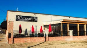 History Buffs Will Love The Blacksmith Restaurant In Tennessee, Located In An Old 19th Century Blacksmith Shop
