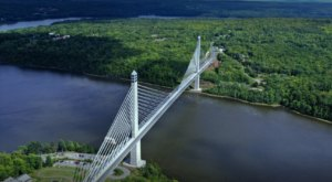 One Of The Highest Bridges In The Whole Country Is Right Here In Maine