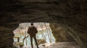 This Above Ground Cave In North Carolina Is So Hidden You'll Probably Have It All To Yourself